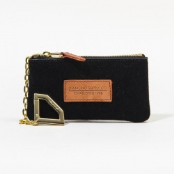 DMD POUCH SUEDE LIZRD BLK - Click for more info