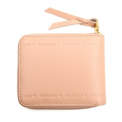 DMD WALLET NATURAL ZIP BLK - Click for more info