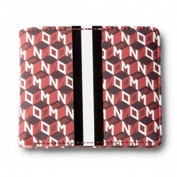 DMD WALLET GEOMETRIC RED - Click for more info