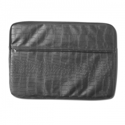 DMD BAG LAPTOP CROC BLK - Click for more info