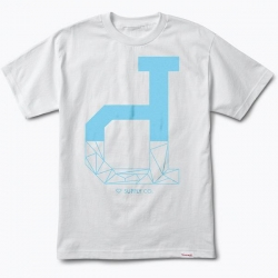DMD TEE FRACTAL UNPOLO WHT M - Click for more info