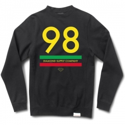 DMD SWT CREW 98 SUPPLY BLK M - Click for more info