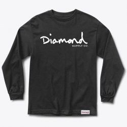 DMD LS TEE OG SCRIPT BLK M - Click for more info