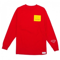 DMD LS TEE OG SCRIPT RED XXL - Click for more info