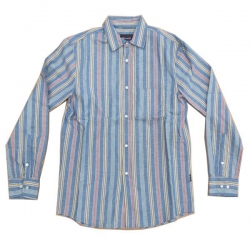 DMD LS SHIRT VINTAGE RD/BLU/Y - Click for more info