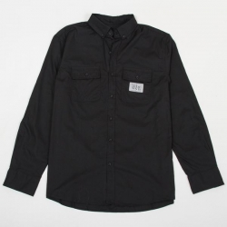 DMD LS SHIRT PARIS BLK S - Click for more info
