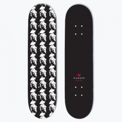 DMD DECK BLOW UP BLK 8 - Click for more info