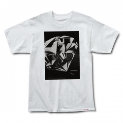 DMD TEE DMD CUT WHT M - Click for more info