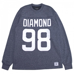 DMD LS TEE REGGIE HTHR/NVY XL - Click for more info