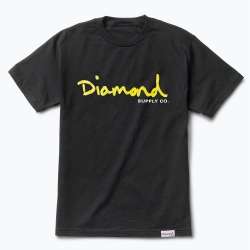 DMD TEE OG SCRIPT BLK/YEL XL - Click for more info