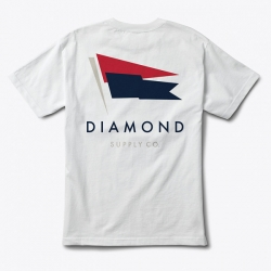 DMD TEE YACHT FLAG WHT L - Click for more info