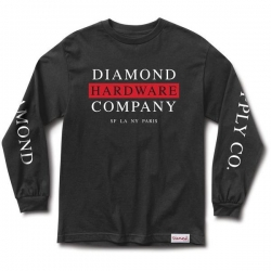 DMD LS TEE HRDWRE STK BLK M - Click for more info