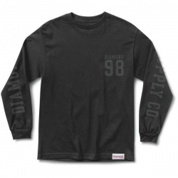 DMD LS TEE NINE EIGHT BLK L - Click for more info