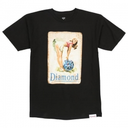 DMD TEE PIN UP GIRL BLK M - Click for more info