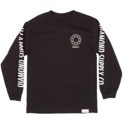 DMD LS TEE DTC BLK XL - Click for more info