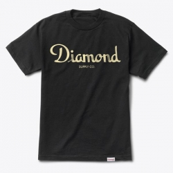 DMD TEE CHAMPAGNE SCRPT BK M - Click for more info
