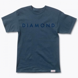 DMD TEE FACET TONAL NVY L - Click for more info