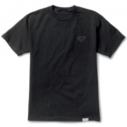 DMD TEE TONAL CHEST BRILL BK M - Click for more info
