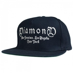 DMD CAP ADJ GANG NVY - Click for more info