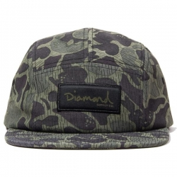 DMD CAP 5PNL RAINFROG BLK/CAMO - Click for more info