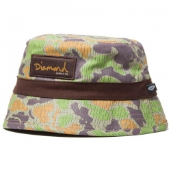 DMD HAT BUCKET TAN/CAMO - Click for more info