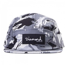 DMD CAP 5PNL LS CAMO GRY - Click for more info