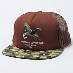DMD CAP ADJ DMD BACK GRN - Click for more info