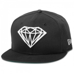 DMD CAP FTD BRLLNT BLK 7 1/4 - Click for more info