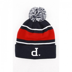 DMD BEANIE UNPOLO POM NVY - Click for more info