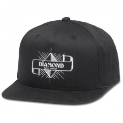 DMD CAP ADJ SHINE CREST BLK - Click for more info
