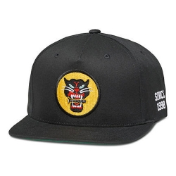 DMD CAP ADJ BLACKCAT BLK - Click for more info