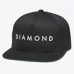 DMD CAP ADJ FACET BLK - Click for more info