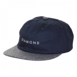 DMD CAP ADJ LEEWAY UNST NVY - Click for more info