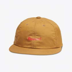 DMD CAP ADJ DMD SCRIPT TAN - Click for more info