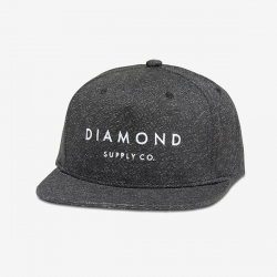 DMD CAP ADJ DMND SPECKLE GRY - Click for more info