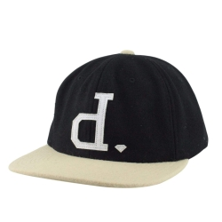 DMD CAP ADJ UNPOLO BLK/TAN - Click for more info