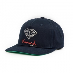 DMD CAP ADJ OG SIGN NVY/RED - Click for more info