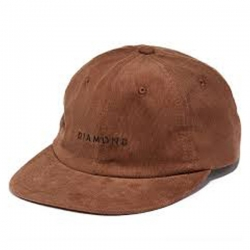 DMD CAP 5PNL LEEWAY UNST BRN - Click for more info