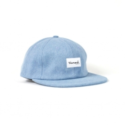 DMD CAP ADJ OG SCRIPT LBL WASH - Click for more info