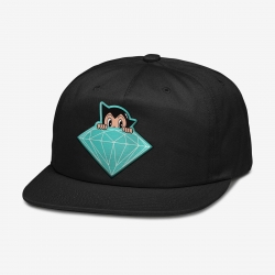 DMD CAP ADJ ASTRO BOY BLK - Click for more info
