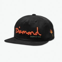 DMD CAP ADJ OG SCRIPT SP19 BLK - Click for more info