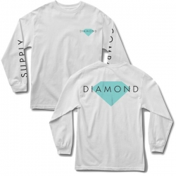 DMD LS TEE DMD SOLID WHT L - Click for more info