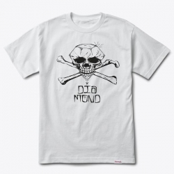 DMD TEE CROSSBONES WHT S - Click for more info
