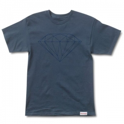 DMD TEE TONAL BRILLIANT NVY L - Click for more info