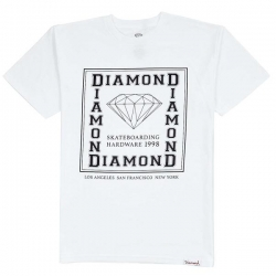 DMD TEE SQUARE CITY WHT M - Click for more info