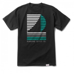 DMD TEE STRIPE BOAT BLK XL - Click for more info