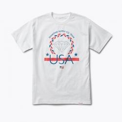DMD TEE USA TEAM WHT L - Click for more info