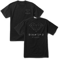 DMD TEE BRILLIANT DMND BLK M - Click for more info