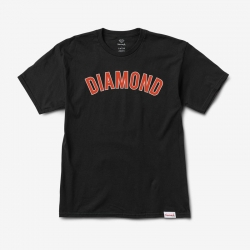 DMD TEE DIAMOND ARCH BLK L - Click for more info
