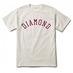 DMD TEE DIAMOND ARCH CRM L - Click for more info